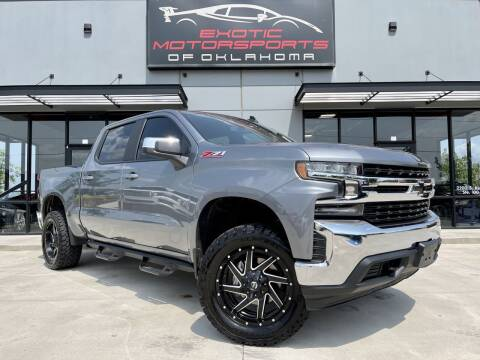 2019 Chevrolet Silverado 1500 for sale at Exotic Motorsports of Oklahoma in Edmond OK