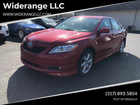 2007 Toyota Camry for sale at Widerange LLC in Greenwood IN