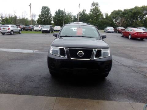 2010 Nissan Pathfinder for sale at Pool Auto Sales Inc in Spencerport NY