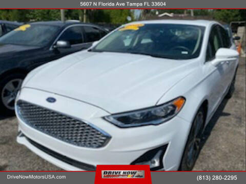 2020 Ford Fusion for sale at Drive Now Motors USA in Tampa FL