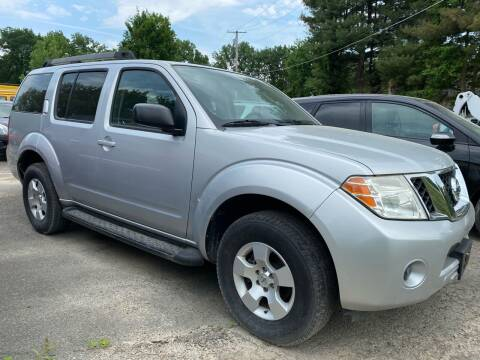 2009 Nissan Pathfinder for sale at D & M Auto Sales & Repairs INC in Kerhonkson NY