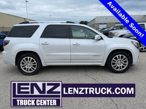2016 GMC Acadia for sale at LENZ TRUCK CENTER in Fond Du Lac WI