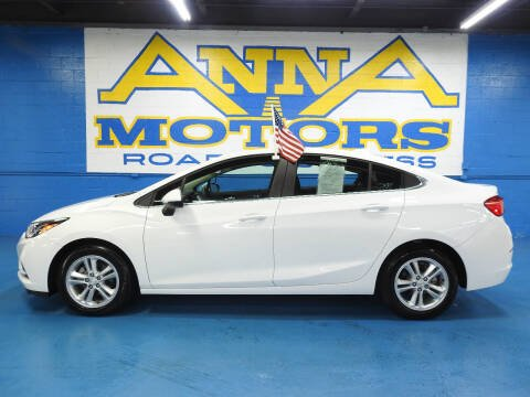 2018 Chevrolet Cruze for sale at ANNA MOTORS, INC. in Detroit MI