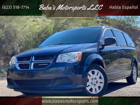 2014 Dodge Grand Caravan for sale at Baba's Motorsports, LLC in Phoenix AZ