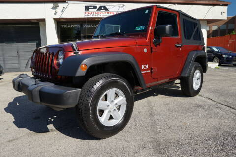 2007 Jeep Wrangler for sale at PA Motorcars in Conshohocken PA