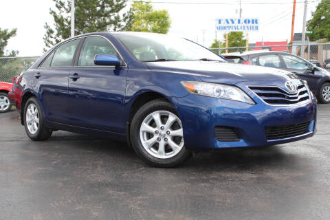 2011 Toyota Camry for sale at Dan Paroby Auto Sales in Scranton PA