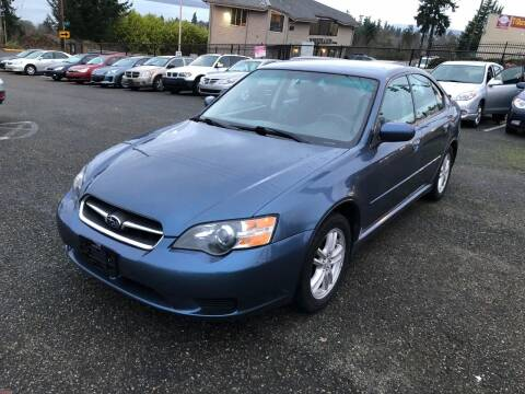 2005 Subaru Legacy for sale at KARMA AUTO SALES in Federal Way WA