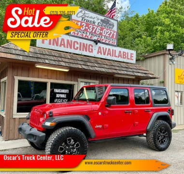 2019 Jeep Wrangler Unlimited for sale at Oscar's Truck Center, LLC in Houston TX