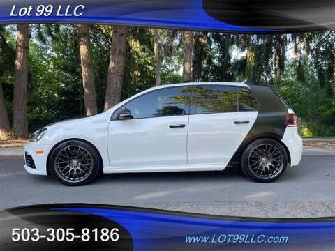 2012 Volkswagen Golf R for sale at LOT 99 LLC in Milwaukie OR
