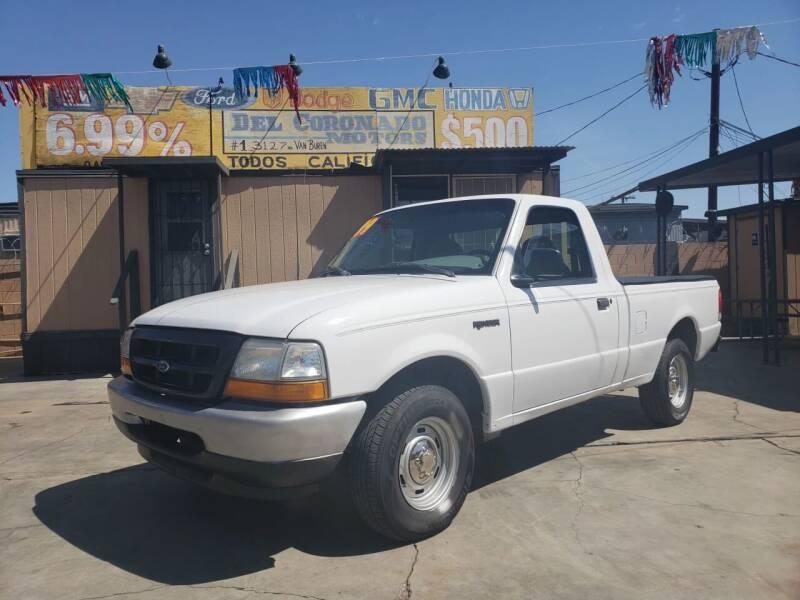 1999 Ford Ranger for sale at DEL CORONADO MOTORS in Phoenix AZ