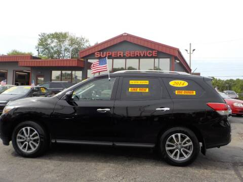 2014 Nissan Pathfinder for sale at Super Service Used Cars in Milwaukee WI