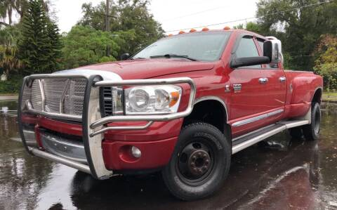 2007 Dodge Ram Pickup 3500 for sale at LUXURY AUTO MALL in Tampa FL