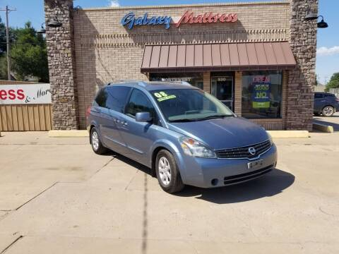 2008 Nissan Quest for sale at NORTHWEST MOTORS in Enid OK