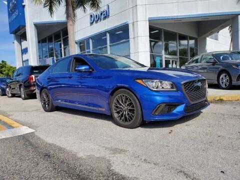2020 Genesis G80 for sale at DORAL HYUNDAI in Doral FL