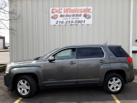 2013 GMC Terrain for sale at C & C Wholesale in Cleveland OH