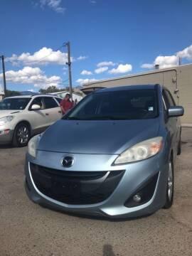 2012 Mazda MAZDA5 for sale at Top Gun Auto Sales, LLC in Albuquerque NM