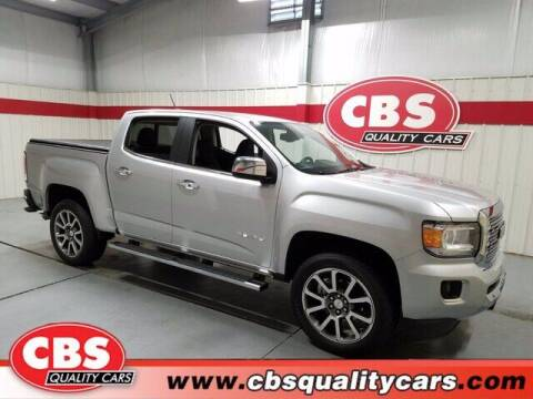 2018 GMC Canyon for sale at CBS Quality Cars in Durham NC