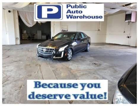 2014 Cadillac CTS for sale at Public Auto Warehouse in Pekin IL