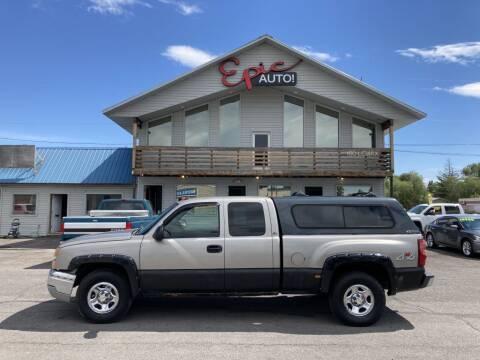 2003 Chevrolet Silverado 1500 for sale at Epic Auto in Idaho Falls ID