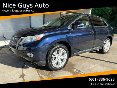 2010 Lexus RX 450h for sale at Nice Guys Auto in Hattiesburg MS