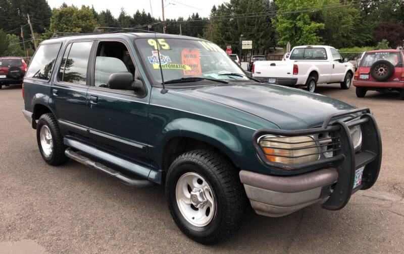 1995 Ford Explorer for sale at Freeborn Motors in Lafayette, OR