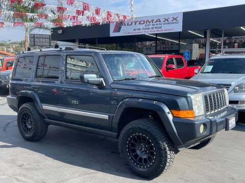 2007 Jeep Commander for sale at Automaxx Of San Diego in Spring Valley CA