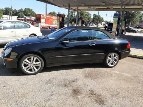 2006 Mercedes-Benz CLK for sale at All Star Auto Sales of Raleigh Inc. in Raleigh NC
