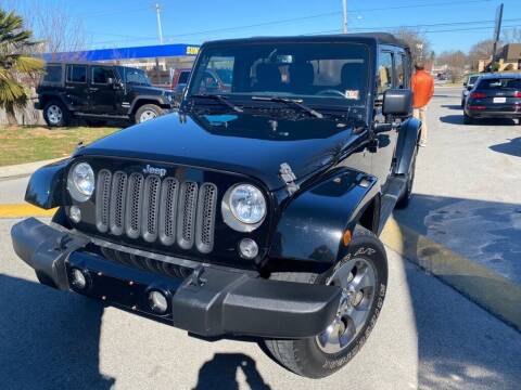 2016 Jeep Wrangler Unlimited for sale at Z Motors in Chattanooga TN