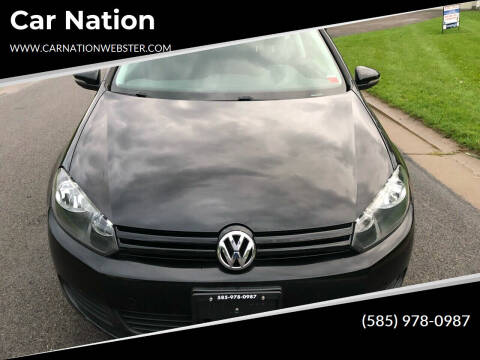 2010 Volkswagen Golf for sale at Car Nation in Webster NY