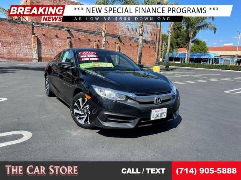 2016 Honda Civic for sale at The Car Store in Santa Ana CA