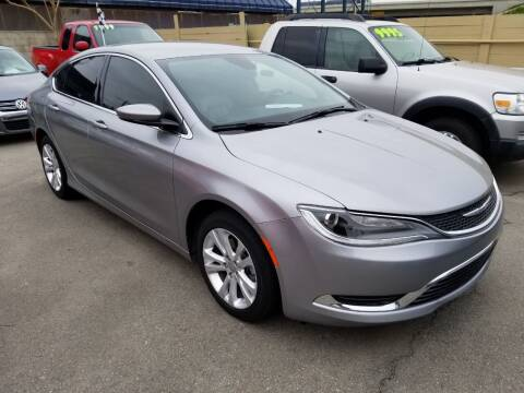 2017 Chrysler 200 for sale at Approved Autos in Bakersfield CA