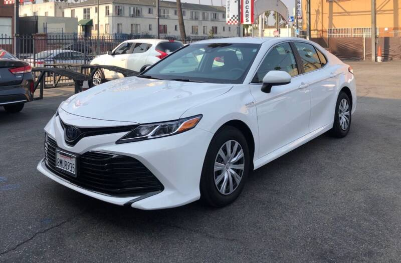 2020 Toyota Camry Hybrid for sale at Eden Motor Group in Los Angeles CA