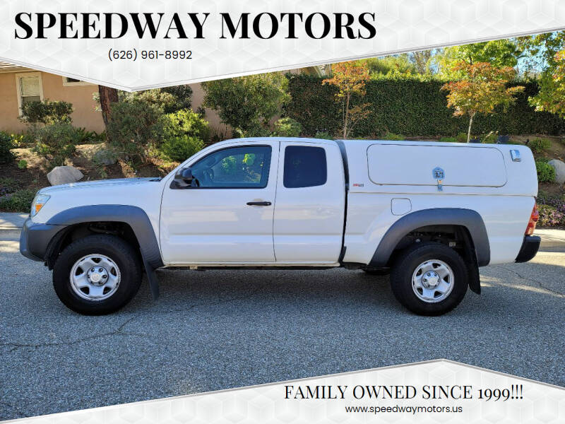 2015 Toyota Tacoma for sale at Speedway Motors in Glendora CA