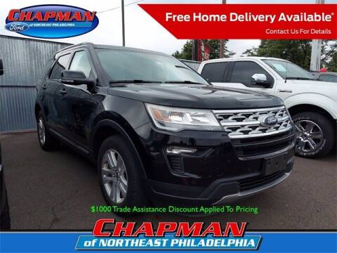 2018 Ford Explorer for sale at CHAPMAN FORD NORTHEAST PHILADELPHIA in Philadelphia PA