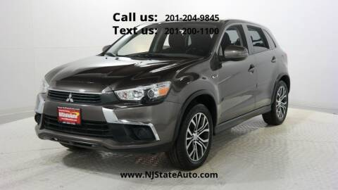 2017 Mitsubishi Outlander Sport for sale at NJ State Auto Used Cars in Jersey City NJ