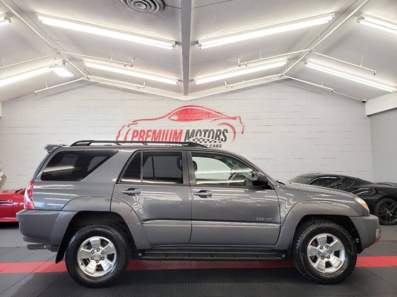 2003 Toyota 4Runner for sale at Premium Motors in Villa Park IL