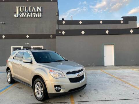 2013 Chevrolet Equinox for sale at Julian Auto Sales, Inc. in Warren MI