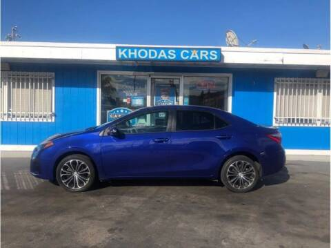 2014 Toyota Corolla for sale at Khodas Cars in Gilroy CA