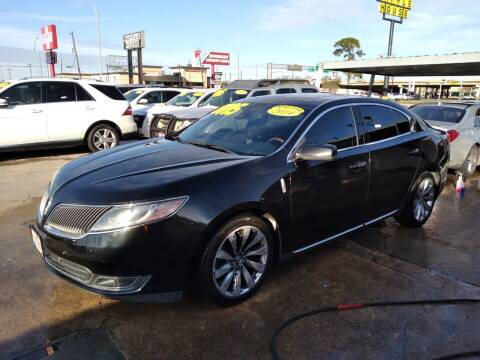2014 Lincoln MKS for sale at Taylor Trading Co in Beaumont TX