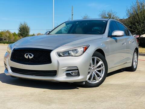 2015 Infiniti Q50 for sale at AUTO DIRECT in Houston TX
