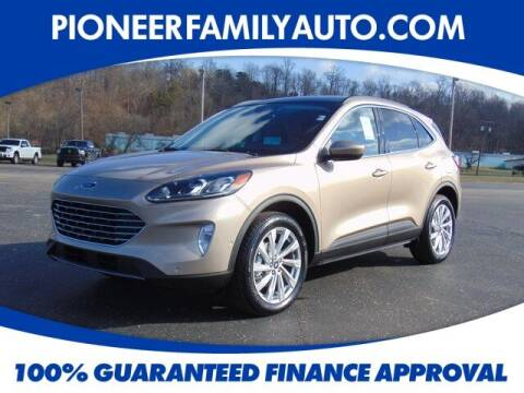 2021 Ford Escape for sale at Pioneer Family auto in Marietta OH