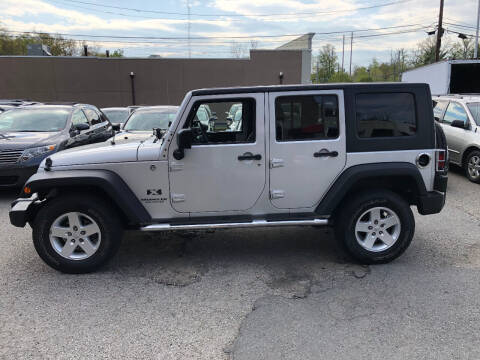 2008 Jeep Wrangler Unlimited for sale at Matrone and Son Auto in Tallman NY