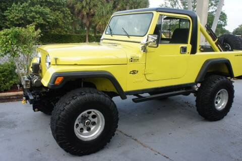 1982 Jeep CJ-8 for sale at Dream Machines USA in Lantana FL