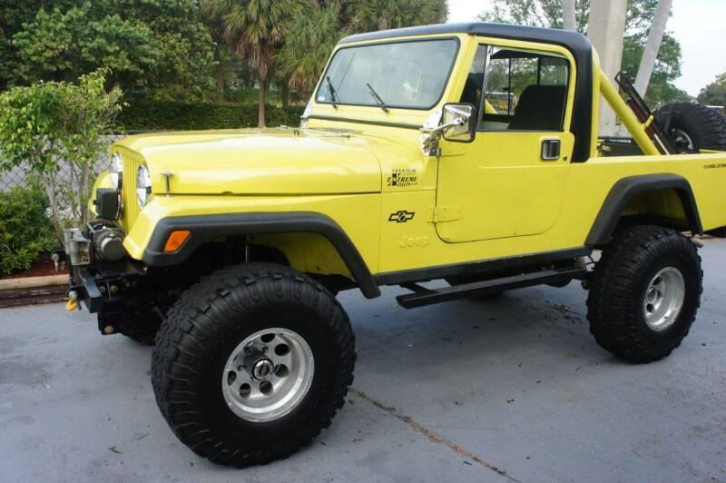 1982 Jeep CJ-8 for sale at Dream Machines USA in Lantana FL