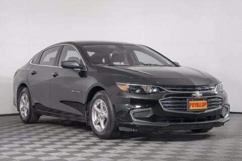 2018 Chevrolet Malibu for sale at Washington Auto Credit in Puyallup WA