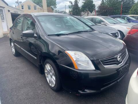 2012 Nissan Sentra for sale at Park Avenue Auto Lot Inc in Linden NJ