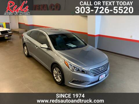 2015 Hyundai Sonata for sale at Red's Auto and Truck in Longmont CO