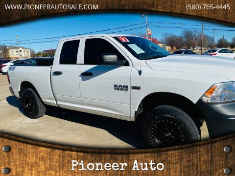2017 RAM Ram Pickup 1500 for sale at Pioneer Auto in Ponca City OK