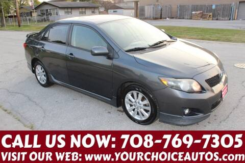 2009 Toyota Corolla for sale at Your Choice Autos in Posen IL
