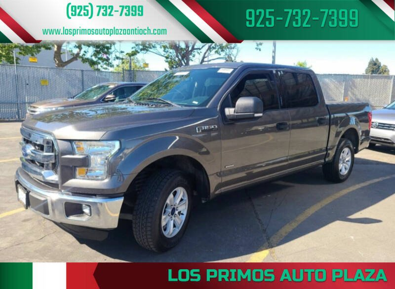 2018 Ford F-150 for sale at Los Primos Auto Plaza in Antioch CA